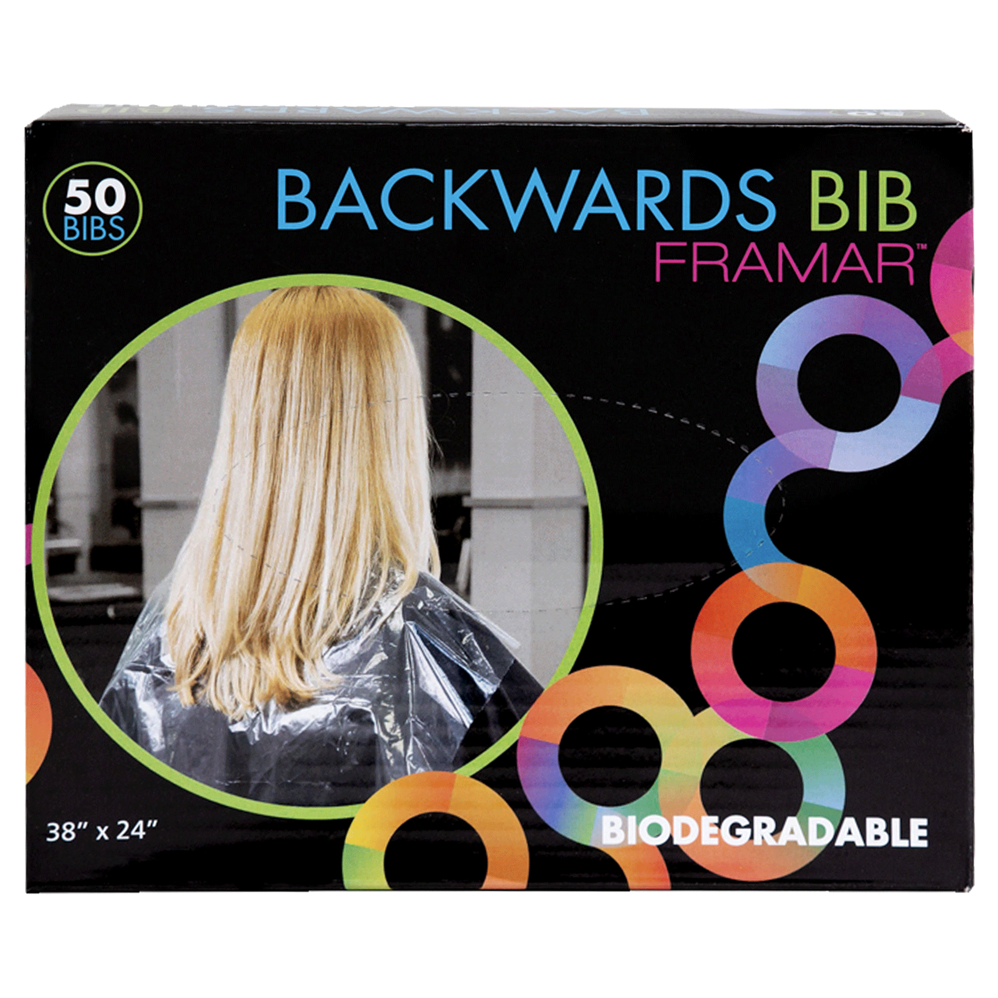 Backwards Bibs - 50 Count