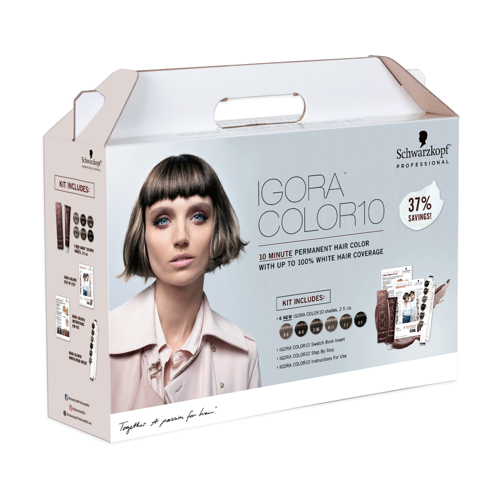 IGORA Color10 Natural & Cool Tones Kit