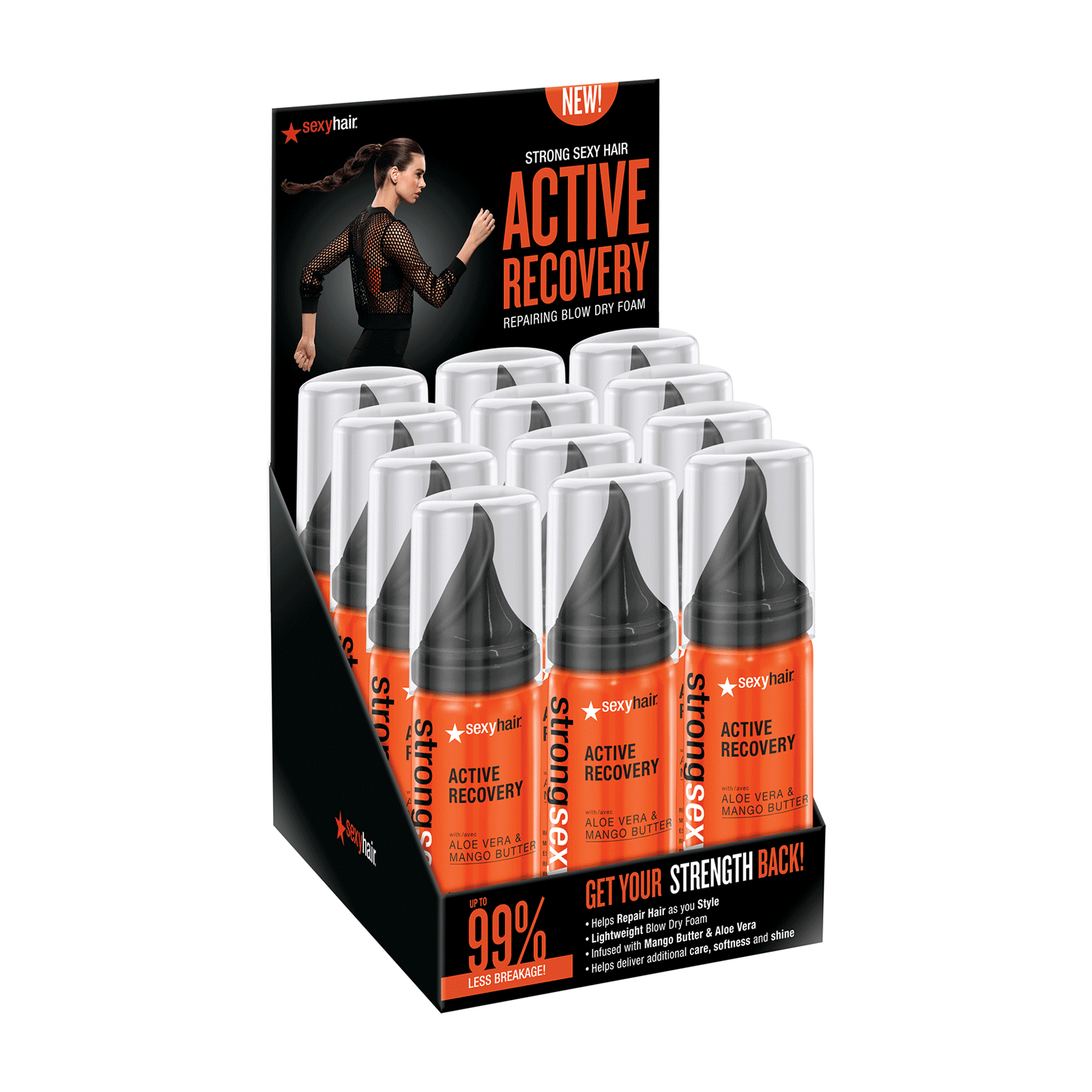 Active Recovery Repair Blow Dry Mini - 12 Count Display