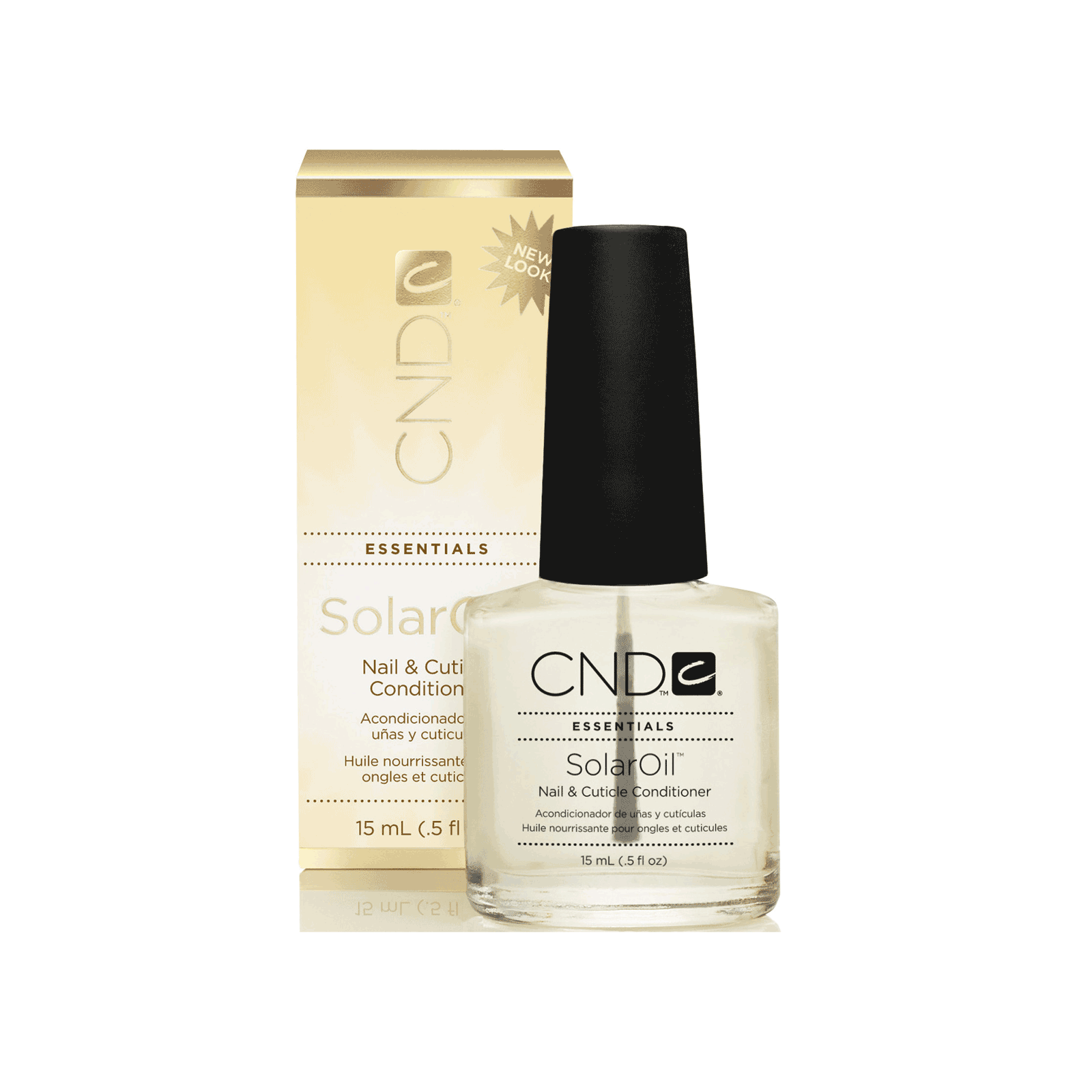 Solar Oil Nail & Cuticle Treatment - CND | CosmoProf