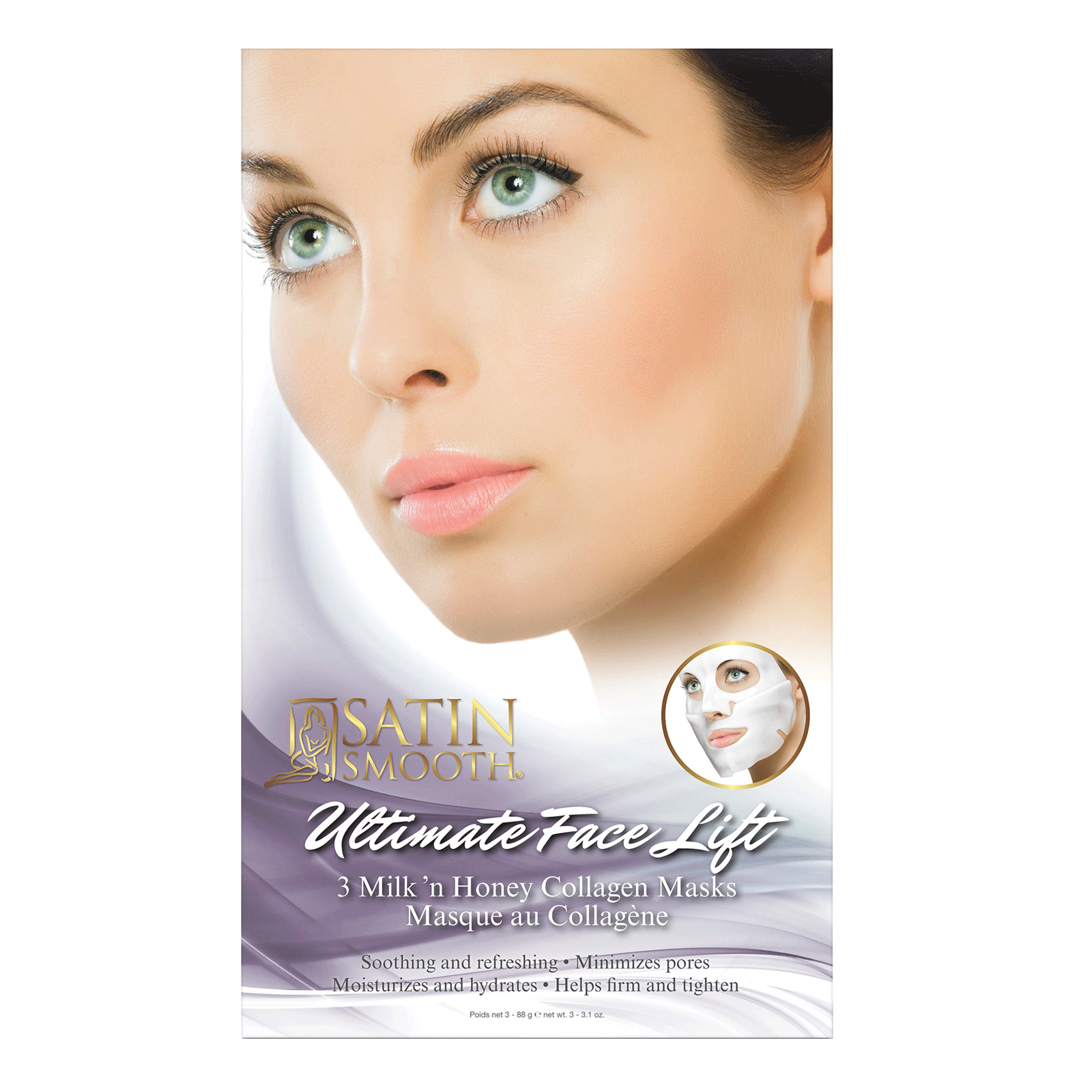 Ultimate Face Collagen Mask - 3 pack