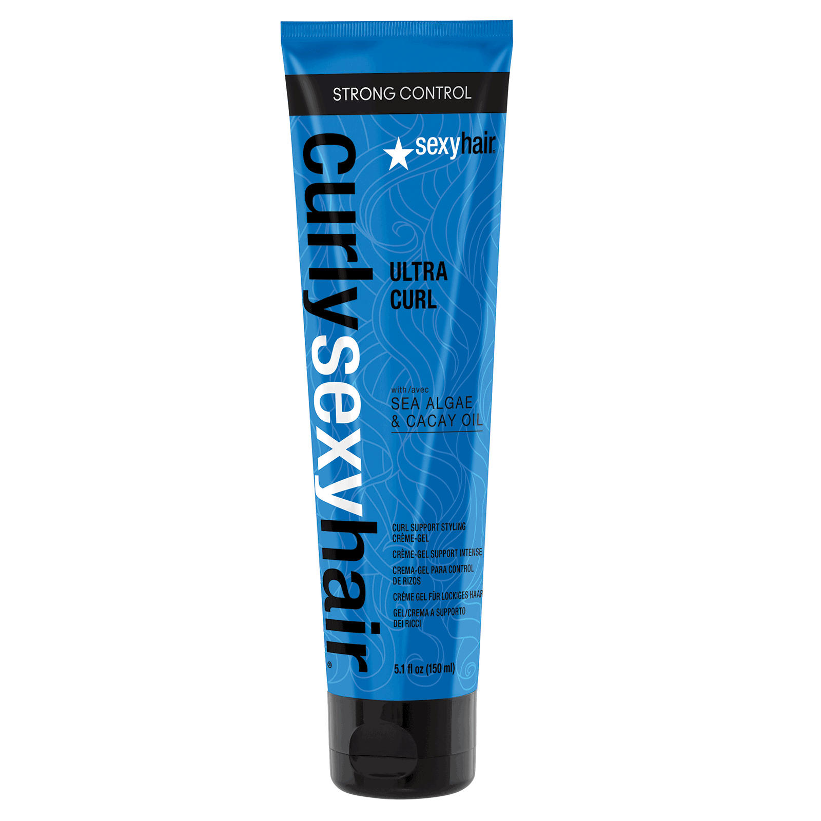 Curl Sexy Hair -  Ultra Curl Support Styling Creme-Gel