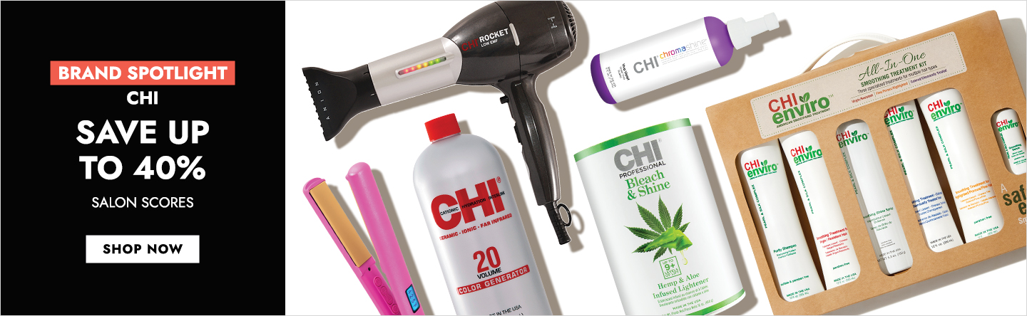 Brand Spotlight on Chi: Save Up To 40%