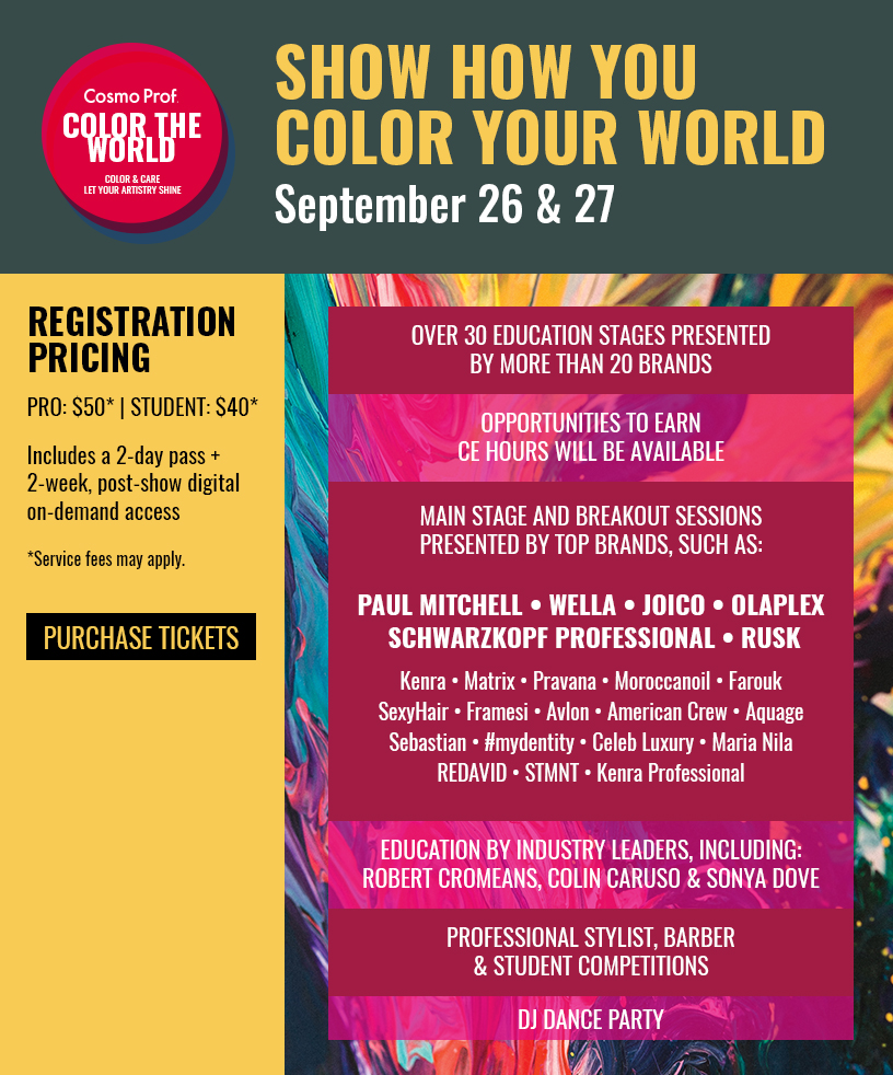 Color the world flyer